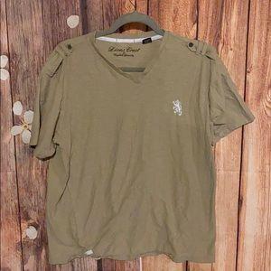 Lions Crest by English Laundry XL men's shirt